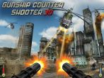 In addition to the game Zombie Hunting for Android phones and tablets, you can also download Gunship counter shooter 3D for free.