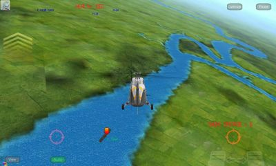 Screenshots of the Gunship III for Android tablet, phone.