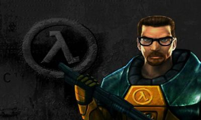 Screenshots of the Half-Life for Android tablet, phone.