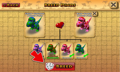 Screenshots of the Happy Dinos for Android tablet, phone.