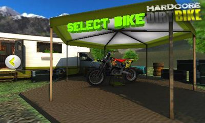 Screenshots of the Hardcore Dirt Bike for Android tablet, phone.