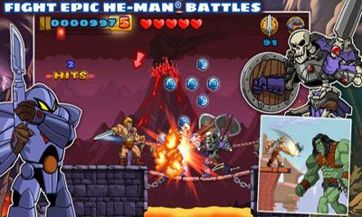 Screenshots of the He-Man: The Most Powerful Game in the Universe for Android tablet, phone.
