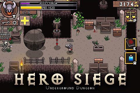 Download Hero siege Android free game. Get full version of Android apk app Hero siege for tablet and phone.