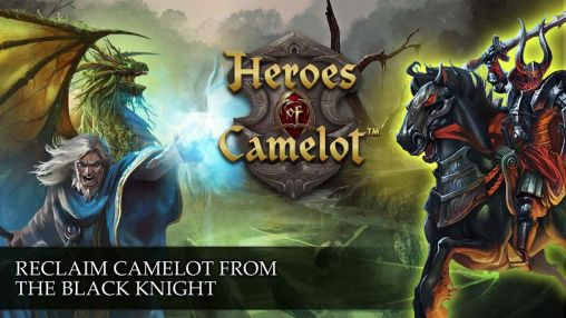 Screenshots of the Heroes of Camelot for Android tablet, phone.