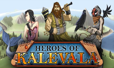 Screenshots of the Heroes of Kalevala for Android tablet, phone.