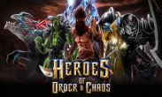 In addition to the game  for Android phones and tablets, you can also download Heroes of Order & Chaos for free.