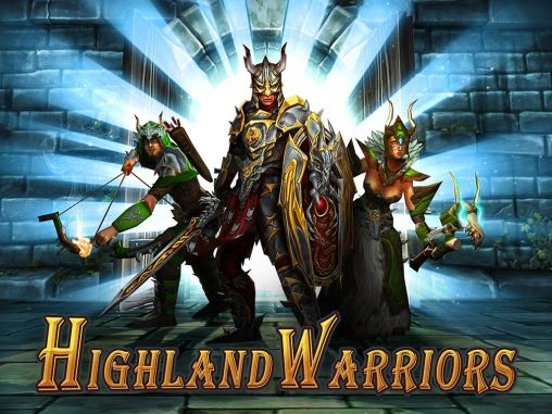 Screenshots of the Highland warriors for Android tablet, phone.