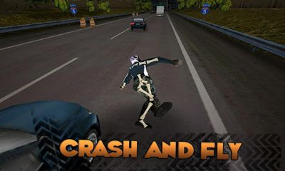Screenshots of the Highway Rider for Android tablet, phone.