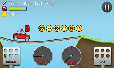 Screenshots of the Hill Climb Racing for Android tablet, phone.
