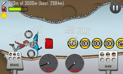 Hill Climb Racing - Android game screenshots. Gameplay Hill Climb