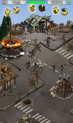 Screenshots of the Hills of Glory WWII for Android tablet, phone.