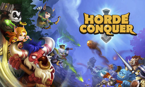 Screenshots of the Horde conquer for Android tablet, phone.