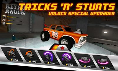 Screenshots of the Hot mod racer for Android tablet, phone.