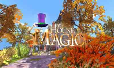 Screenshots of the House of magic for Android tablet, phone.