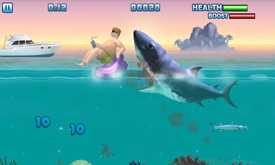 Hungry Shark - Part 3 - Android game screenshots. Gameplay Hungry