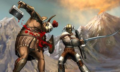 Screenshots of the I, Gladiator for Android tablet, phone.