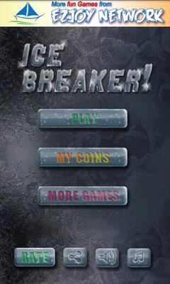 Screenshots of the Ice Breaker! for Android tablet, phone.