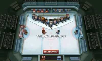 Screenshots of the Ice Rage for Android tablet, phone.