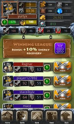 Icy Clash - Android game screenshots. Gameplay Icy Clash