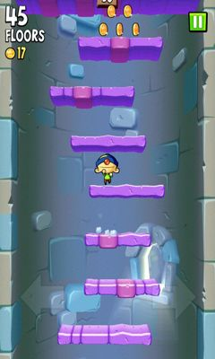 Screenshots of the Icy Tower 2 for Android tablet, phone.