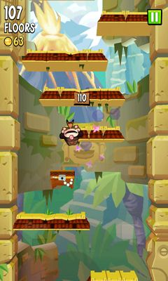 Screenshots of the Icy Tower 2 Temple Jump for Android tablet, phone.