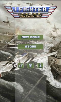 Screenshots of the iFighter 2 The Pacific 1942 for Android tablet, phone.