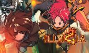 In addition to the game Caveman Run for Android phones and tablets, you can also download ILLUSIA for free.