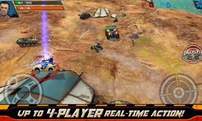 Screenshots of the Indestructible for Android tablet, phone.