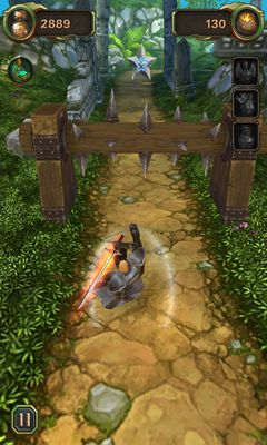 Screenshots of the Infinity Run 3D for Android tablet, phone.
