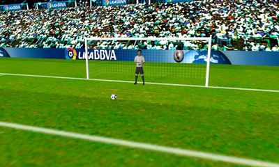 Iniesta VS. Casillas - Android game screenshots. Gameplay Iniesta VS