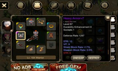 Inotia 4 Assasin of berkel apk