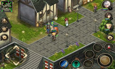 Screenshots of the Inotia 4: Assassin of Berkel for Android tablet, phone.