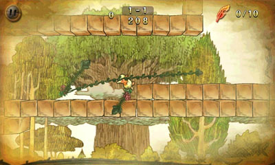 Screenshots of the Ivy The Kiwi for Android tablet, phone.