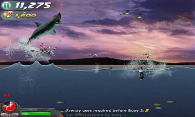 Screenshots of the Jaws Revenge for Android tablet, phone.