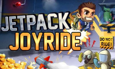 Screenshots of the Jetpack Joyride for Android tablet, phone.