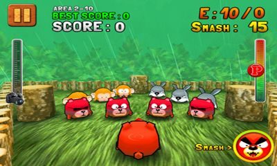 Screenshots of the Jungle Smash for Android tablet, phone.