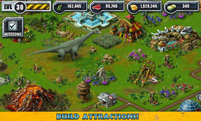 Jurassic park builder android apk game jurassic park for Builder online