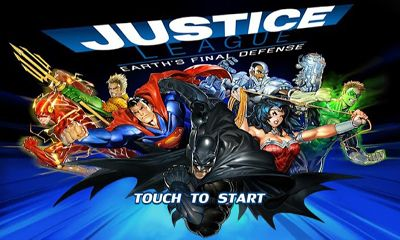 Screenshots of the Justice League: EFD for Android tablet, phone.