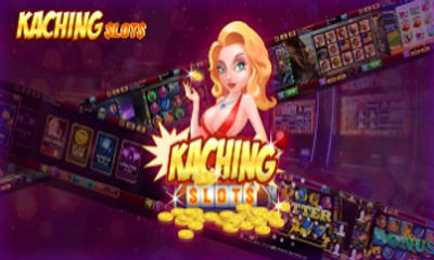 Screenshots of the KaChing Slots for Android tablet, phone.