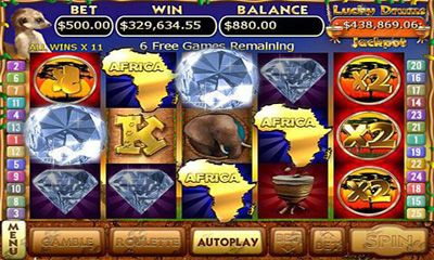 Screenshots of the Kalahari Sun Free for Android tablet, phone.