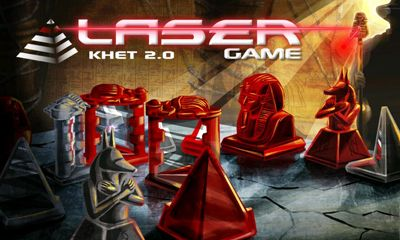 Screenshots of the KHET Laser game for Android tablet, phone.