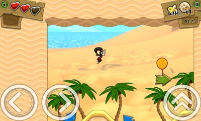 Screenshots of the Kiba & Kumba Jungle Run for Android tablet, phone.