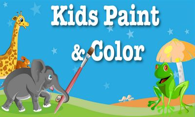 Screenshots of the Kids Paint & Color for Android tablet, phone.