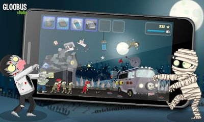 Screenshots of the Kill The Zombies for Android tablet, phone.