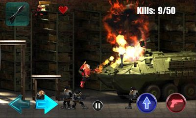 Screenshots of the Killer Bean Unleashed for Android tablet, phone.
