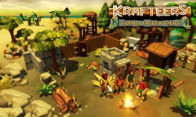 Screenshots of the Krafteers - Tomb Defenders for Android tablet, phone.