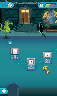 Screenshots of the Where's My Water? 2 for Android tablet, phone.