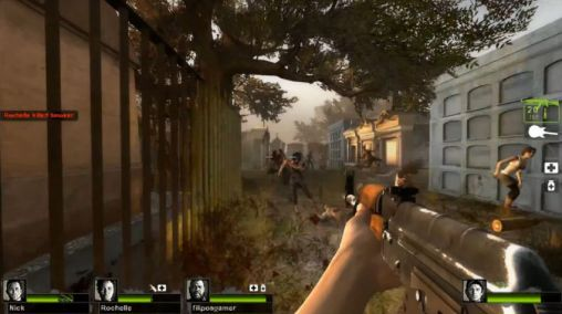 Screenshots of the Left 4 dead 2 for Android tablet, phone.