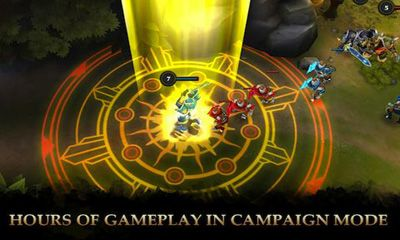 Screenshots of the Legendary Heroes for Android tablet, phone.