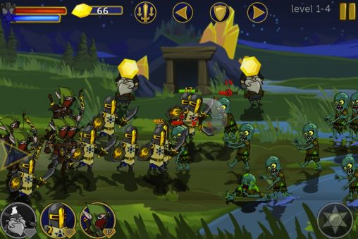 Screenshots of the Legendary wars for Android tablet, phone.